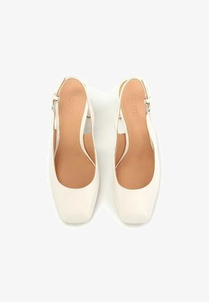 CASSIDY - Zapatos altos - Off-white