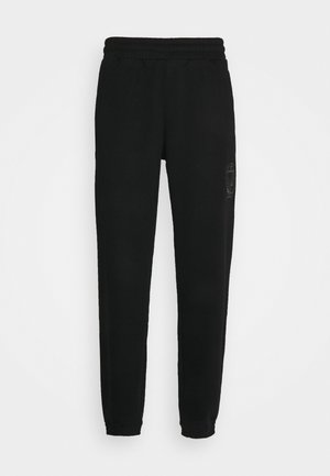 COLLEGIATE CREST UNISEX - Teplákové kalhoty - black