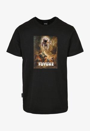 WL FUTURE FEAR  - T-shirt med print - black/mc