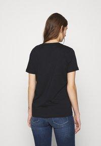 Calvin Klein - CORE LOGO - Print T-shirt - black - 2