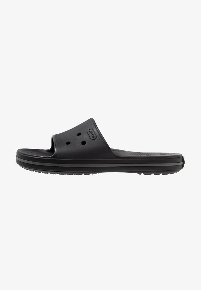 CROCBAND III  - Pool slides - black/graphite