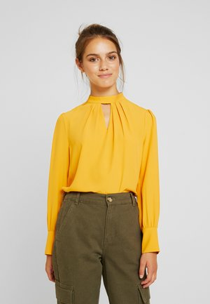 LIME HONEY FORMAL - Blouse - ochre