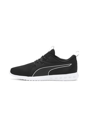 CARSON - Neutral running shoes - black-white