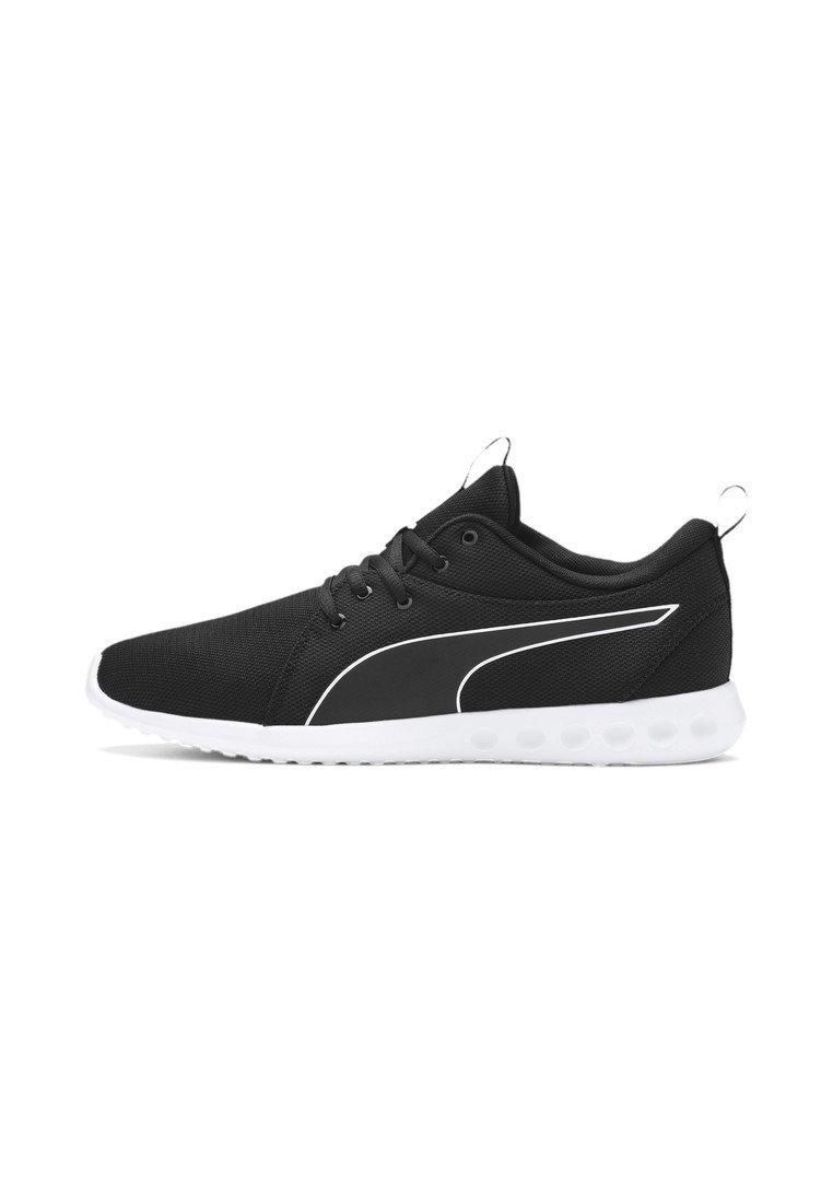 Puma - CARSON - Laufschuh Neutral - black-white