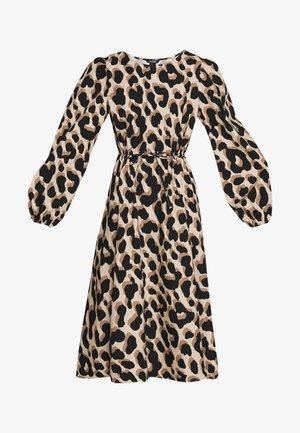 MALLAN DRESS - Denní šaty - beige