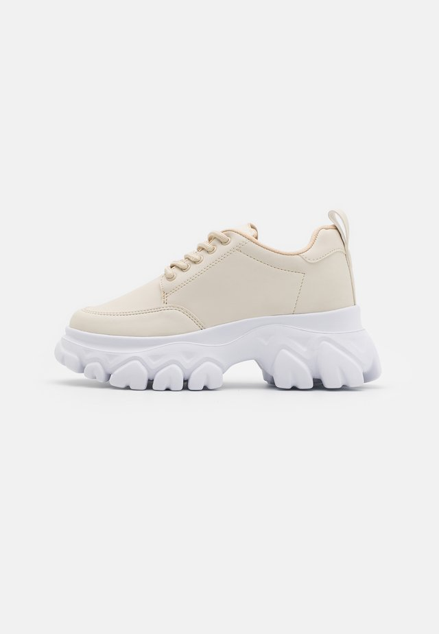 CHEW ON YOUR  - Trainers - beige