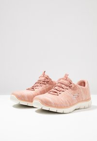Skechers - EMPIRE SEE YA RELAXED FIT - Slip-ons - rose - 4
