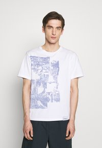 3.1 Phillip Lim - POSTCARD PERFECT TEE - T-shirt med print - white - 0