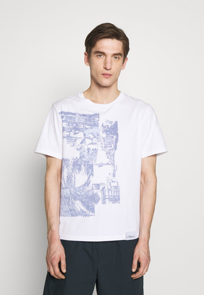 3.1 Phillip Lim - POSTCARD PERFECT TEE - T-shirt med print - white