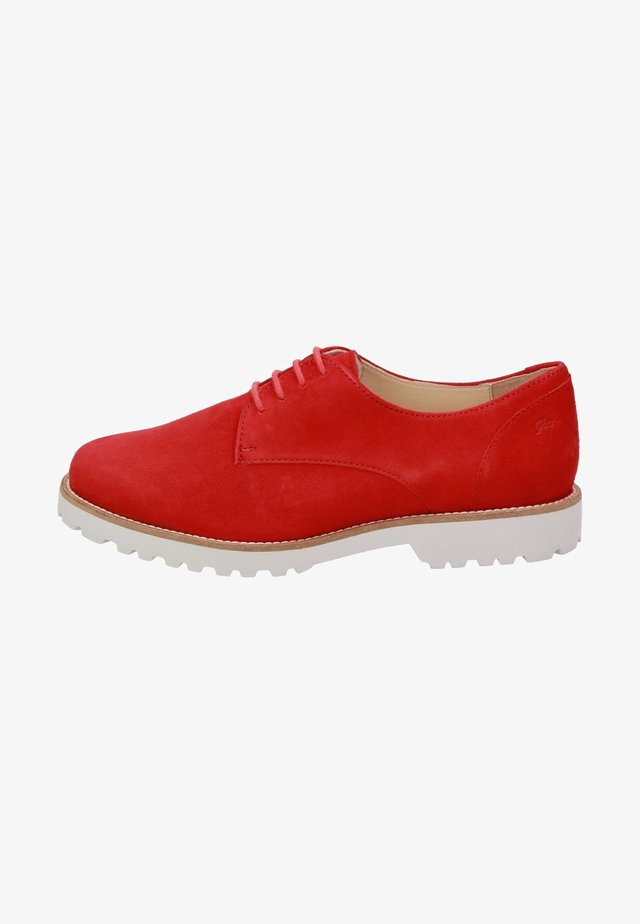 MEREDITH - Casual lace-ups - red