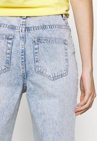 EDITED - MIREA  - Straight leg jeans - light blue stone wash - 5