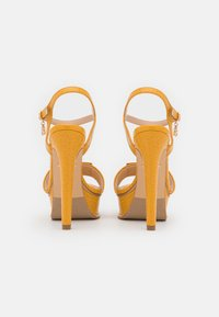 Laura Biagiotti - Platform sandals - mustard - 3