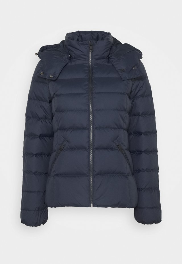 CLASSIC JACKET - Down jacket - evening blue