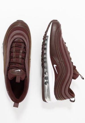 AIR MAX 97 - Sneakersy niskie - el dorado/white/metallic silver