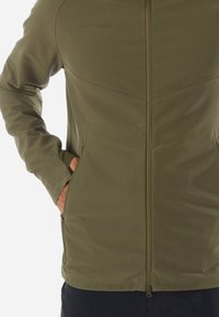 Mammut - MACUN - Soft shell jacket - green/dark green - 3