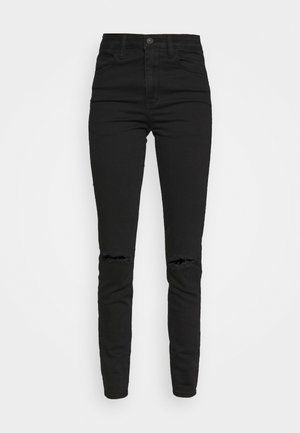 NEXT SUPER - Slim fit jeans - black slash