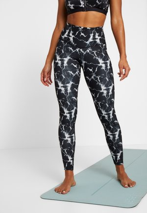 LEGGING MARBLE - Leggings - black