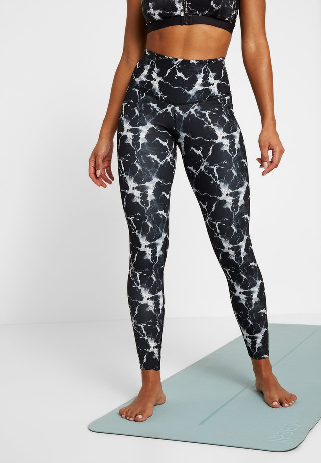 LEGGING MARBLE - Collant - black