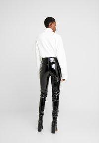 Topshop Tall - PIPER - Pantalones - black - 2