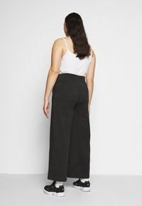 Simply Be - SCUBA TROUSERS - Trousers - black - 2