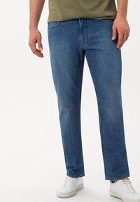 BRAX - STYLE COOPER DENIM - Straight leg jeans - darkblue - 0