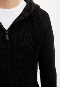 DeFacto - Strikjakke /Cardigans - black - 3