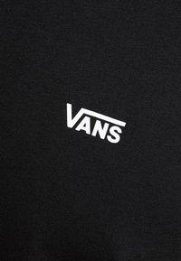 Vans - LEFT CHEST HIT - Bluzka z długim rękawem - black/white - 5