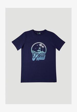 GRADIENT VINTAGE SURF - Printtipaita - midnight blue
