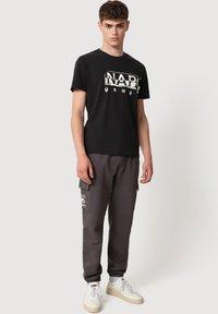 Napapijri - SILEI - T-shirt print - black - 1