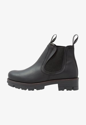 CISSI - Platform ankle boots - black