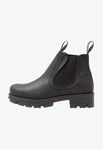 CISSI - Kotníkové boty na platformě - black