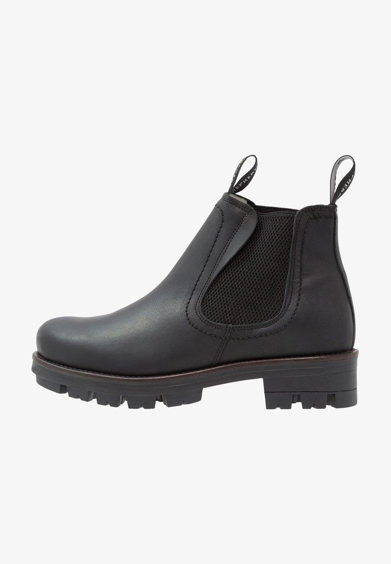 Shepherd - CISSI - Platform ankle boots - black