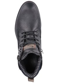 Mustang - Lace-up ankle boots - graphite - 1