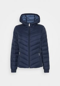 Hollister Co. - LIGHTWEIGHT PUFFER - Light jacket - navy - 4