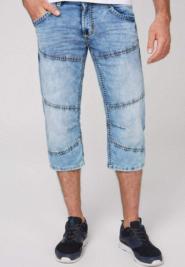 Denim shorts - jogg random blue