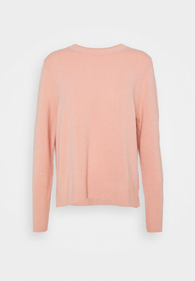 THE BOXY - Pullover - mellow rose