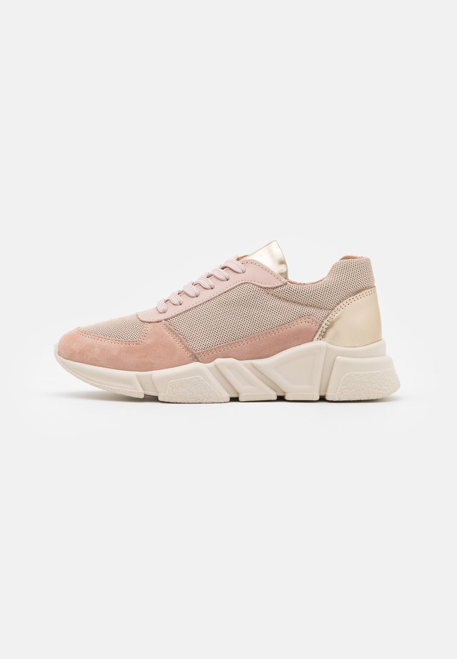 Sneakersy niskie - rose/gold