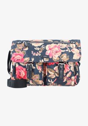 RINA ROSE - Handbag - flower black
