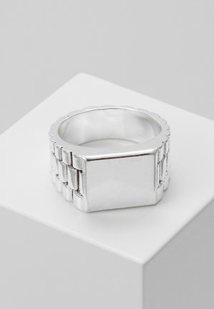 WATCH STRAP RECTANGLE - Anillo - silver-coloured