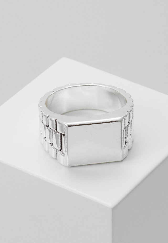 WATCH STRAP RECTANGLE - Ring - silver-coloured