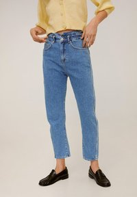 Mango - SLOUCHY - Straight leg jeans - blue - 0