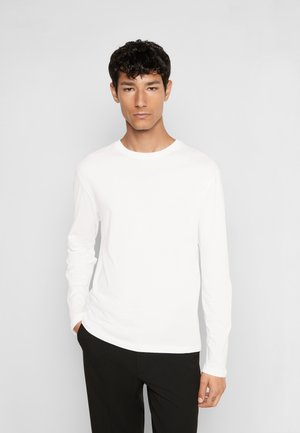 DILLAN - Long sleeved top - pure white