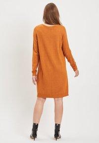 Vila - VIRIL DRESS - Jumper dress - cathay spice - 2