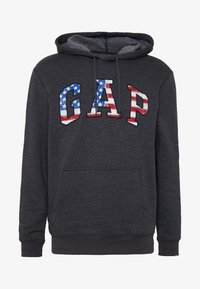 GAP - ARCH FLAG - Hoodie - charcoal heather - 3
