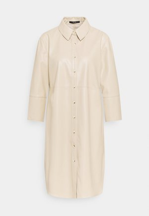 QUENRI - Shirt dress - pearl mélange
