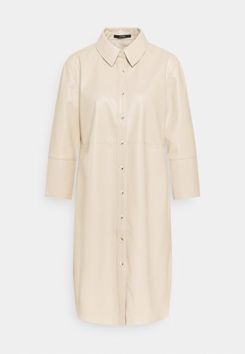 QUENRI - Shirt dress - pearl mélange