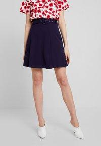 mint&berry - A-line skirt - maritime blue - 0