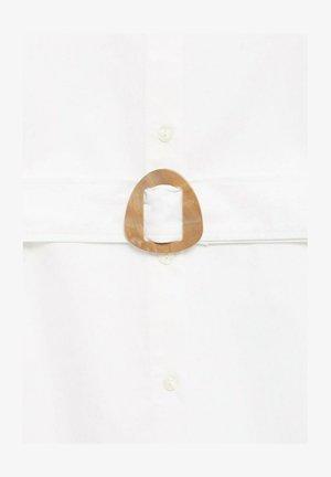 POPI - Skjortekjole - cremeweiß