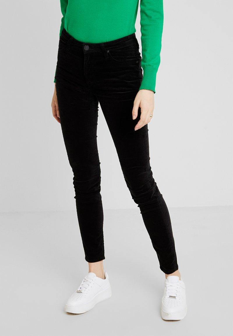 Lee - SCARLETT HIGH - Trousers - black