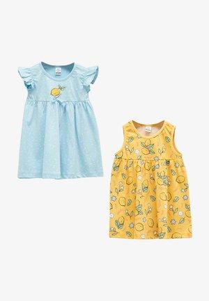 Day dress - yellow, blue
